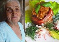Močiutė iš Žemaitijos parodė, kaip iškepti pačius skaniausius kotletus