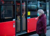 """""""Susisiekimo paslaugos"""": apie 90 proc. keleivių viešajame transporte laikosi reikalavimo dėvėti apsaugines veido kaukes"""