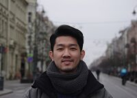 Vietnamese student feels happy living in Vilnius: back home I wear mask every day