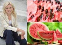 Mokslų daktarė pateikė išvadas apie arbūzą: sėklas ir žievę išmesdavote? Nuo šiol darysite kitaip