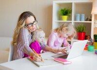 Psichologė: darbas iš namų taps lengvesniu, sutarus dėl keleto visiems atpažįstamų ženklų