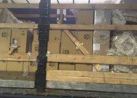 Muitininkai sulaikė vilkikus iš Baltarusijos su 3,6 mln. eurų vertės rūkalų kontrabanda