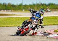 """Šeštadienį Elektrėnų gatvėmis zuis motociklai: vyks – """"Supermoto"""" lenktynės"""