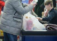 """""""Lidl"""" atsisakius plastikinių maišelių, planus įvardija ir kiti prekybos tinklai"""