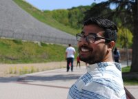 Indian PhD student in Vilnius: yoga helped me to stay calm and stress-free