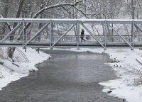 Orai: lietų ir šlapdribą pakeis sniego pusnys