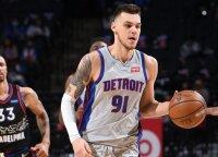 """Sirvydis vėl turės šansą """"Pistons"""" klube"""