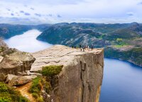 Žymioji Sakyklos uola Norvegijoje – tarsi tramplinas į kvapą gniaužiančius vaizdus