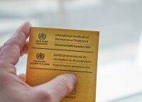 Medikai įspėja planuojančius keliones į užsienį: neturėdami šio dokumento, į šalį galite būti neįleisti