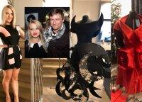 Mariaus Jampolskio žmona Renata save atrado drabužių kūryboje: parodė pasiūtas sukneles