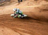 """Klaipėdoje pradėtas motosporto sezonas: greičiausias """"Cross Country"""" trasoje buvo Domantas Jazdauskas"""