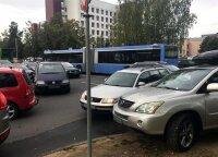 Santariškių medikus pykdo nedrausmingi vairuotojai: KET pažeidėjai skaičiuojami tūkstančiais