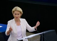 Europos Parlamentas išrinko Ursulą von der Leyen naująja Europos Komisijos vadove