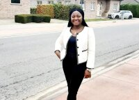 Cameroonian Collette chose Vilnius for her studies: go-getters always have a way out