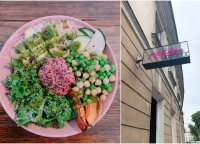 Pietų pertrauka miesto centre: pavalgiau ne tik sočiai, bet ir sveikai