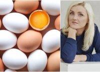 Mokslų daktarė atsakė į amžinai rūpimus klausimus apie kiaušinius: cholesterolį, naudą ir kur reikia juos laikyti
