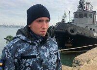 Ragina imtis sankcijų, jei Rusija nepaleis Ukrainos jūreivių