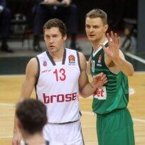 "Eurolyga. Kauno ""Žalgiris"" - Bambergo ""Brose Basket"""