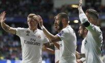 Karimas Benzema išlygino rezultatą