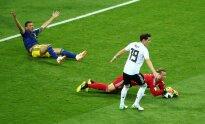 Pasaulio futbolo čempionatas: Vokietija – Švedija