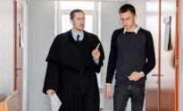 Olegas Malinovskis ir advokatas Laurynas Pakštaitis