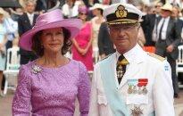 Swedish King Carl XVI Gustaf and Queen Silvia