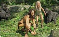 """Kadras iš filmo """"Tarzanas"""" (nuotr. ACME film)"""