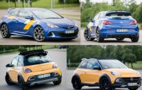 Opel Astra GTC OPC ir Opel Adam Rocks S
