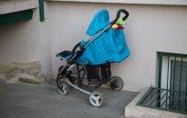 Į kūdikio vežimėlį piktadariai pripylė gyvsidabrio