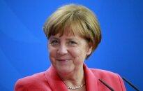A. Merkel paatviravo: juokiasi mažiausiai kartą per dieną ir neatsakytų ilgiau pamiegoti