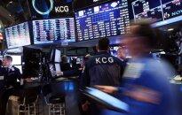JAV akcijos kyla po stiprios darbo statistikos