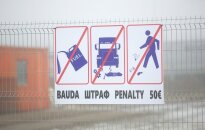 Lithuanian Belarus border
