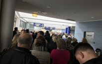 Chaos at the Vilnius air port