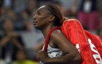 V. Williams iškrito iš WTA varžybų Kinijoje