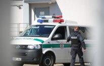 Egidijus Anupraitis brought to Kaunas Police Department