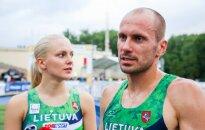 Mišrių estafečių varžybose medaliai išslydo lietuviams iš rankų
