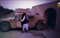 Talibai išplatino bepiločiu nufilmuotą savižudžio išpuolį
