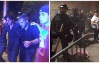 Chaosas JAV: dėl D. Trumpo kilo smurtinis protestas