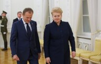Donald Tusk, Dalia Grybauskaitė