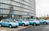 Elektromobiliai Nissan Leaf