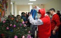Christmas in Rukla Refugee Centre