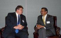 L. Linkevičius su Etiopijos užsienio reikalų ministru Tedrosu Adhanomu Ghebreyesusu