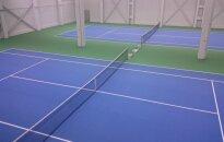 Telšiuose duris atvėrė uždaras teniso centras už 1 mln. eurų
