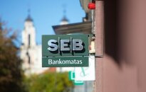 SEB bankas uždaro vieną skyrių Gedimino prospekte Vilniuje