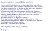 Laiškas A. Verygai