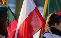 Polish and Lithuanian flags