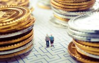 Pensioners in the middle of money