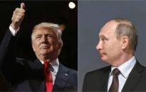 Įžvelgia V. Putino ranką: JAV prezidentą užgriuvę skandalai kai ką primena