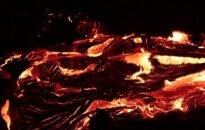 Įspūdingame vaizdo įraše iš ugnikalnio Havajuose tekančios lavos šokis