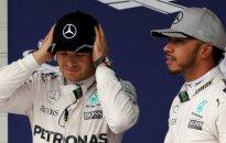 Formulė-1, Nico Rosbergas ir Lewisas Hamiltonas